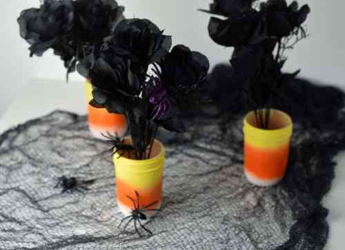 DIY Candy Halloween Centerpiece