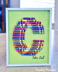 Monogram Crayon Frames