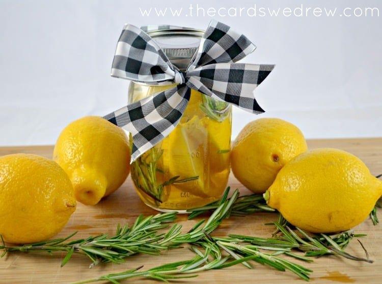 DIY Lemon Air Freshener