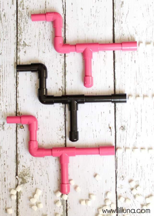 Handmade Marshmallow Gun