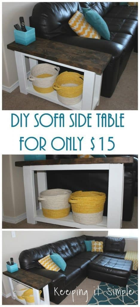 Quick $15 End Tables