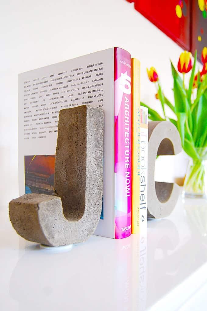 Concrete Bookends