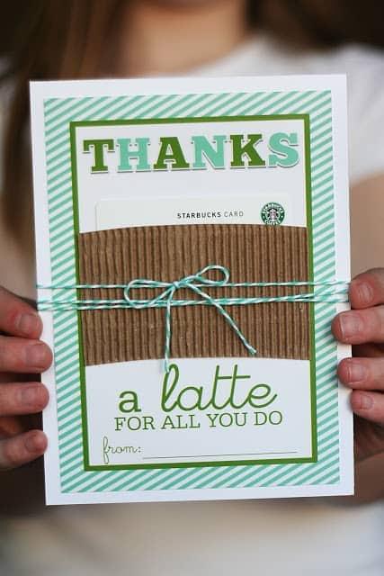 Coffee Gift Idea for Teachers