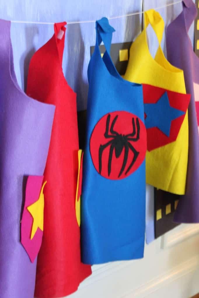 Super Hero Capes DIY