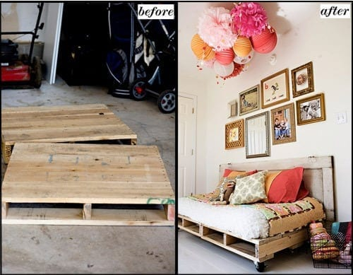Daybed Pallet Bed