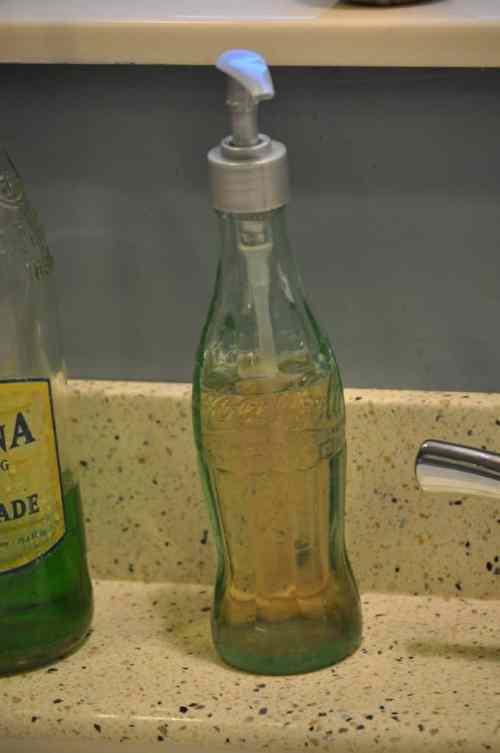 Vintage Coke Soap Bottle