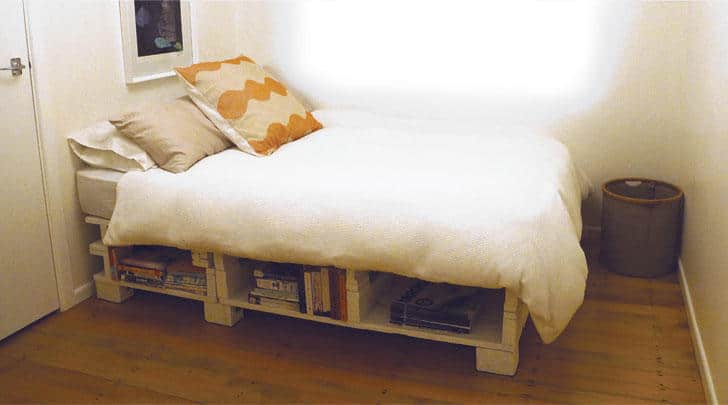 Bed Base From Pallets
