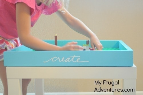 DIY Lego Play Table
