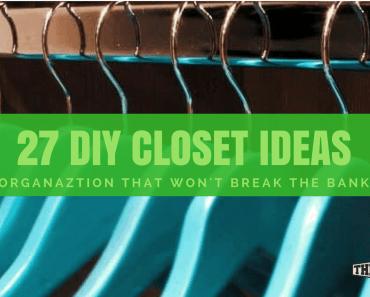 diy closet organaztionals