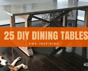 diy dining tables