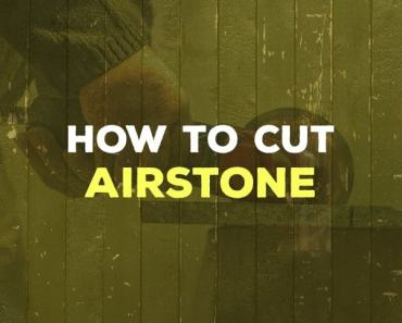 how to cut airstone