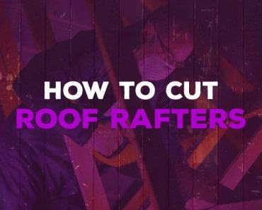 how to cut roof rafters