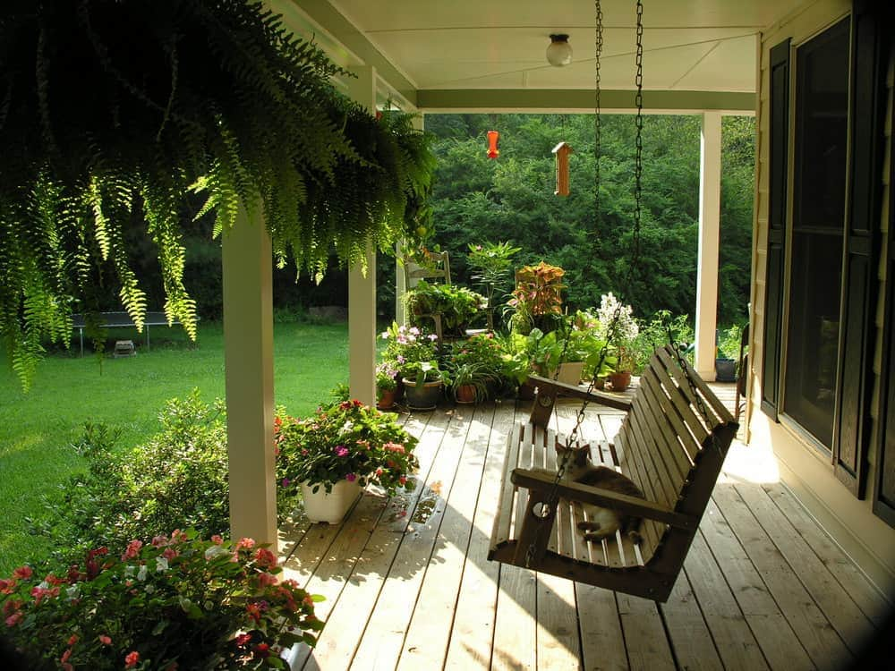 porch swing country