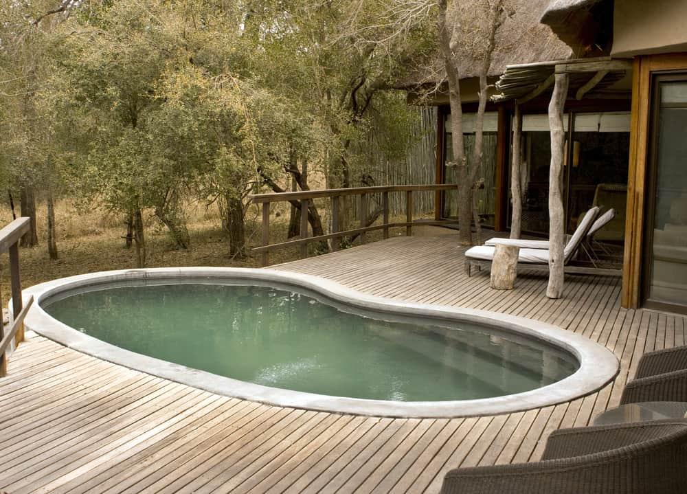 inset deck pool