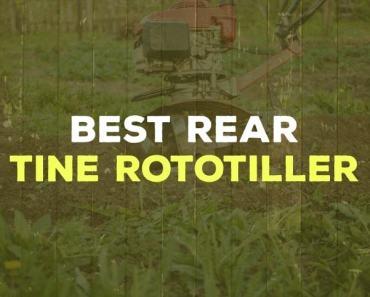 Best Rear Tine Rototiller