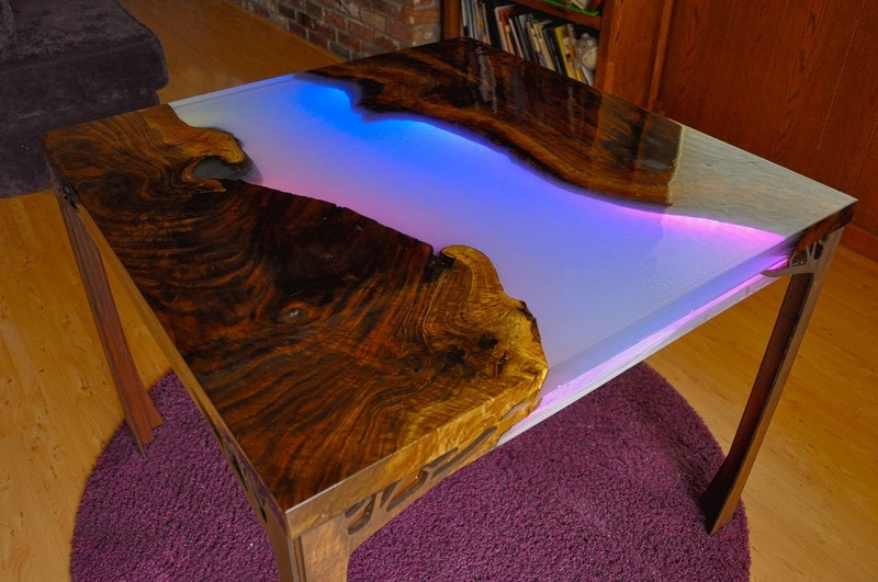 When you have get-togethers or parties this LED resin table is going to be the talk of the show! Everyone will go wild for how awesome it looks. thesawguy.com