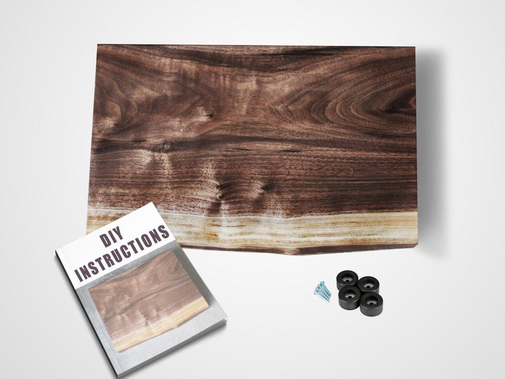 There is nothing more gorgeous than live edge wood projects. This cutting board is stunning and you can build it yourself with a few easy steps. thesawguy.com