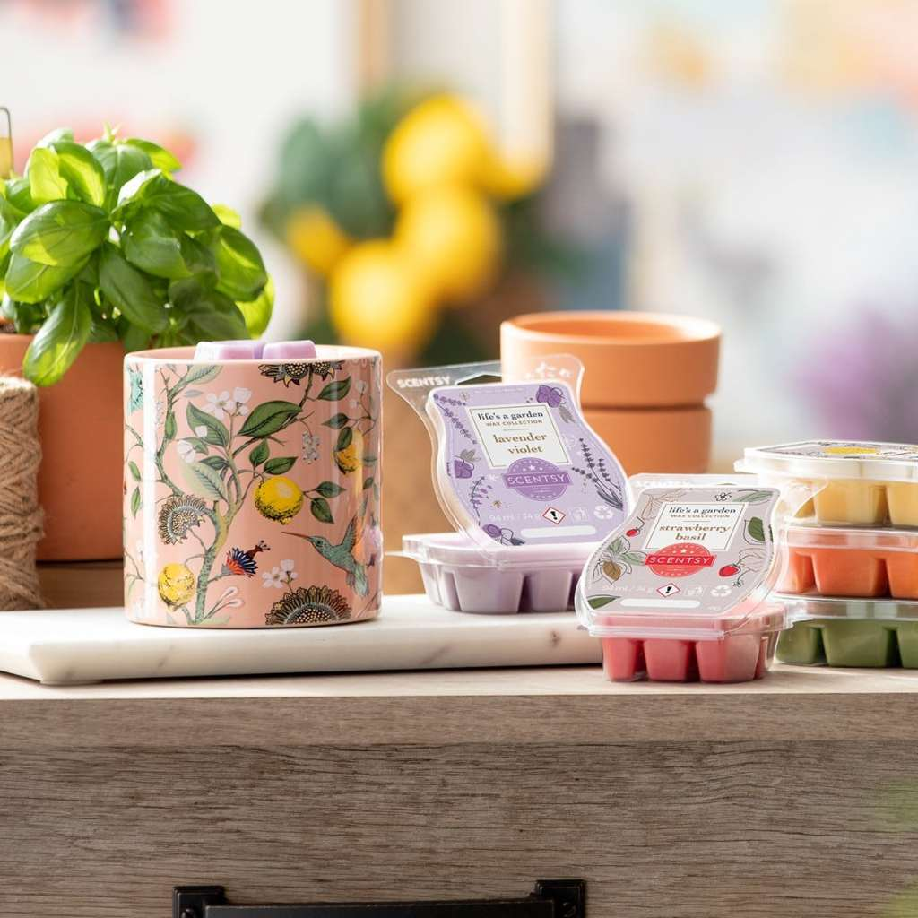 Life's a garden wax warmer and wax collection