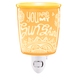 You Are My Sunshine Mini Warmer with Wall Plug