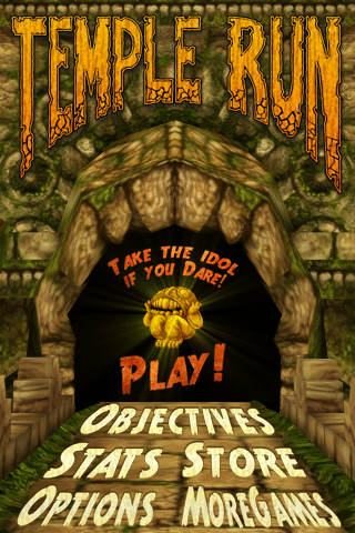 Temple Run Title Screen