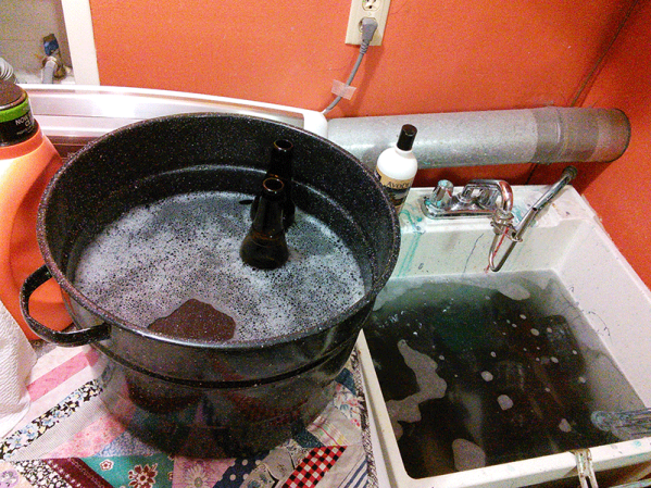 bottle bath