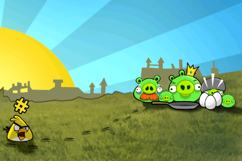 A still from Angry Birds story.