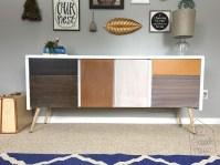 DIY Mid-Century Modern Credenza - The Schmidt Home