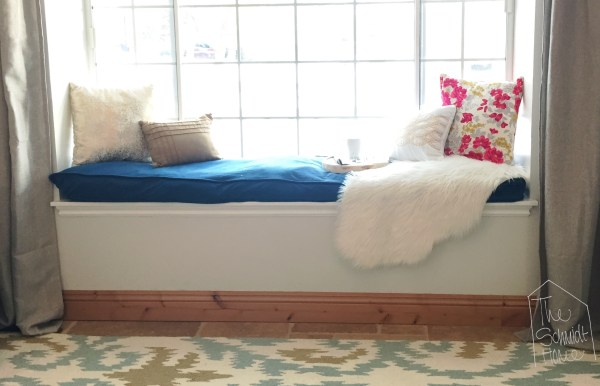 Dog Bed Turned Window Seat Cushion - Schmidt Home