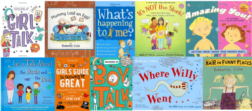 small resolution of Best children's books about puberty and sex   TheSchoolRun