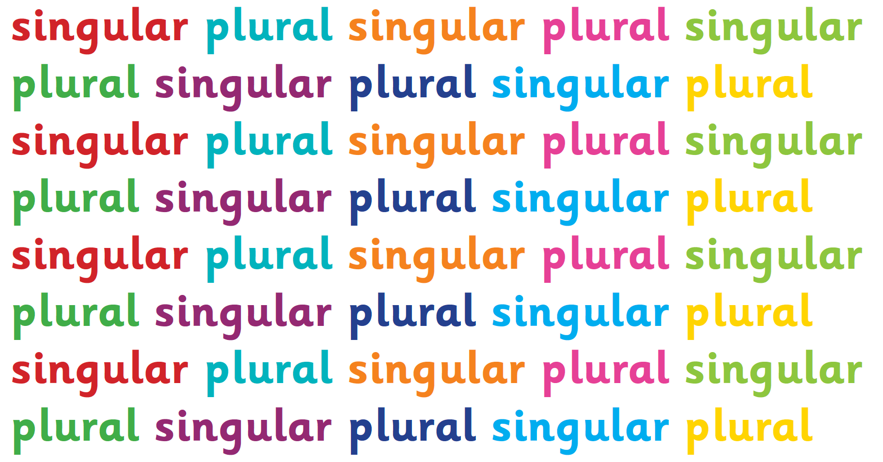 hight resolution of What are singular and plural?   TheSchoolRun