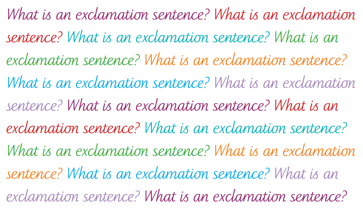 hight resolution of What is an exclamation sentence?   TheSchoolRun