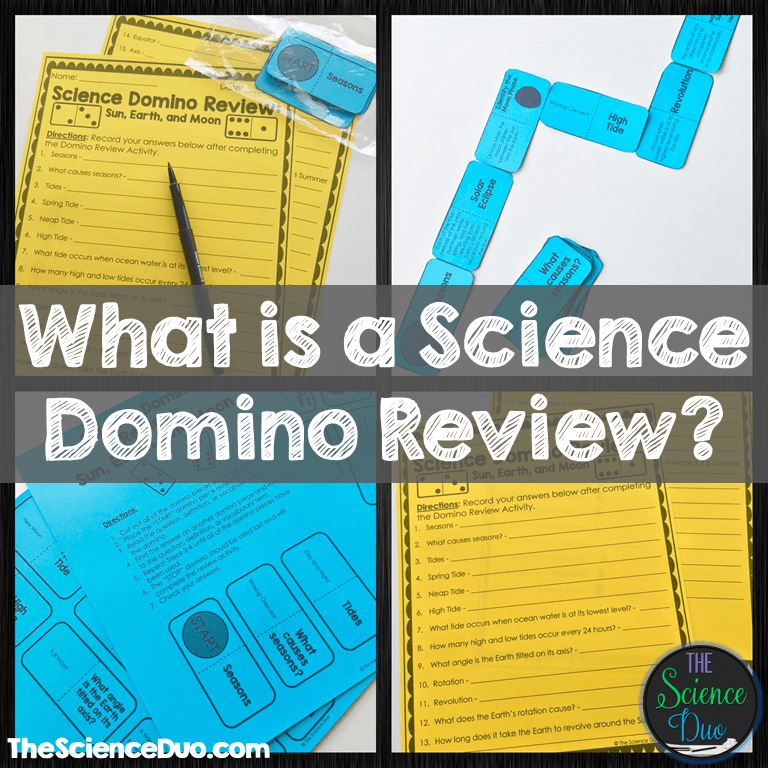 What is a Science Domino Review?