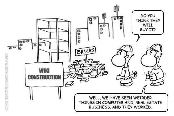 -¿Crees que funcionará?  -Bueno, hemos visto cosas más raras en el negocio informático e inmobiliario y han funcionado.
