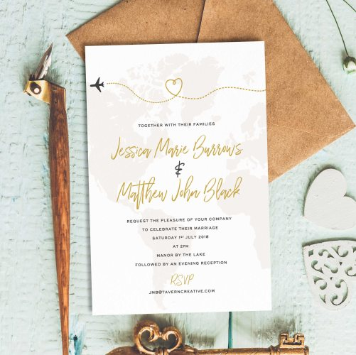 When To Send Out Wedding Invitations For Destination Wedding: 15 Etsy Wedding Invitations