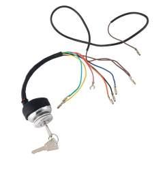 lambretta series 3 quality ignition switch keys dc 7 wire li gp sx tv lis lock [ 1000 x 1000 Pixel ]