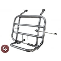 VESPA PX/LML/VBB/Sprint STAINLESS Rear High Rise Backrest