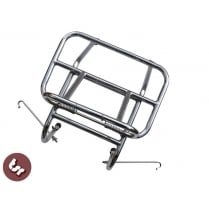 VESPA Stainless Rear Luggage Rack Carrier PX/LML/VBB