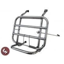 VESPA Stainless Steel Madrid Rear Rack Luggage Carrier