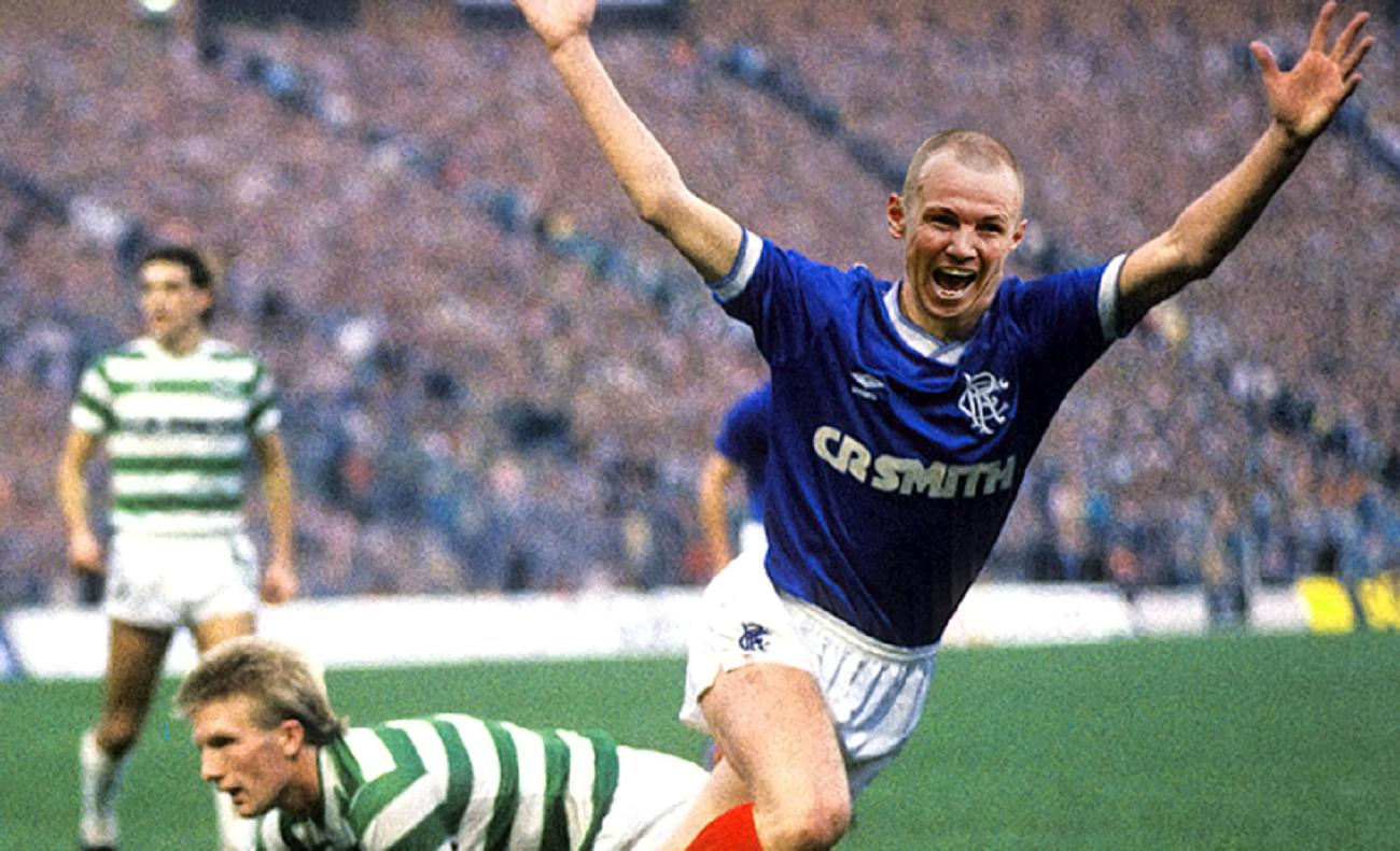 Can You Guess Old Firm Heroes Behind The Celebrations Of
