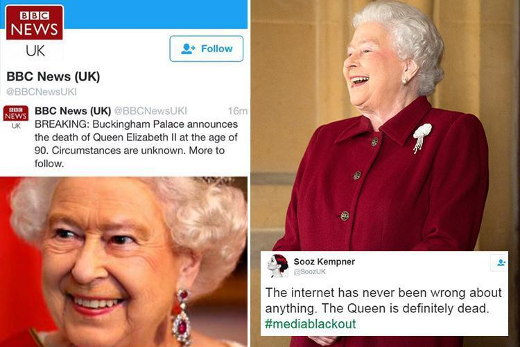 Buckingham Palace Confirms The Queen Is Not Dead After