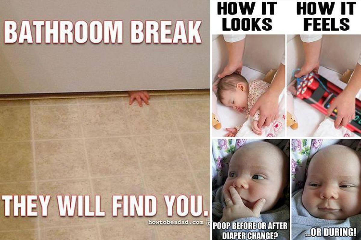15 hilarious memes that every parent will relate to from for Two girls having sex in the bathroom