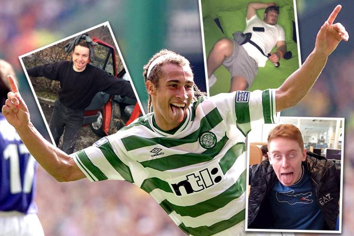 Celtic fc celebrity fans of walking