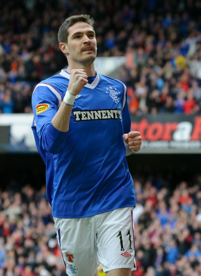 Former Rangers Star Kyle Lafferty S Engagement To Vanessa