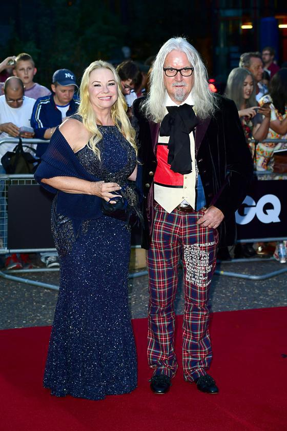 Kylie Minogue was last to sit on Billy Connollys cow