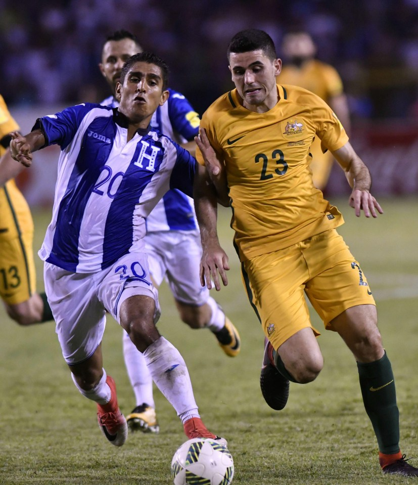 Celtic Star Tom Rogic Helps Australia Qualify World