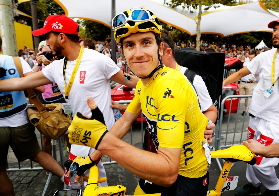 The Tour de France winner says 'helmets have come on a lot - they're well ventilated and you don't look stupid'