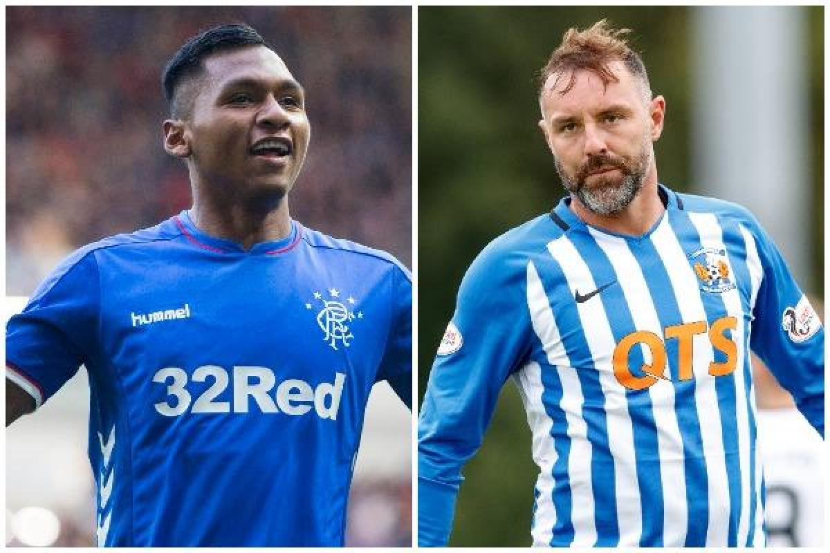 Rangers hot-head Alfredo Morelos was almost sent-off in a bounce game against Kilmarnock..he needs to calm it says Kris Boyd
