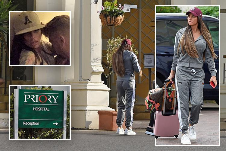 Tormented Katie Price Has Checked Into Rehab At The Priory