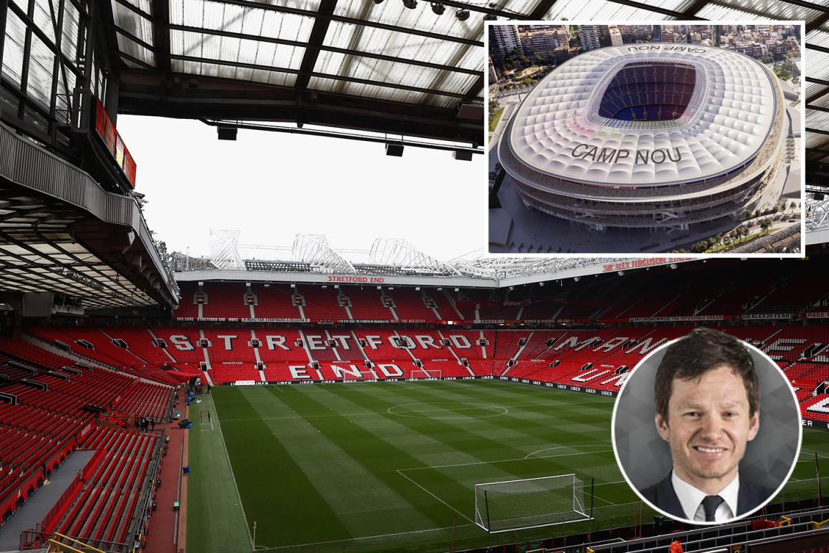 It's really OLD Trafford as new Tottenham Stadium shows Man Utd need to escape time warp