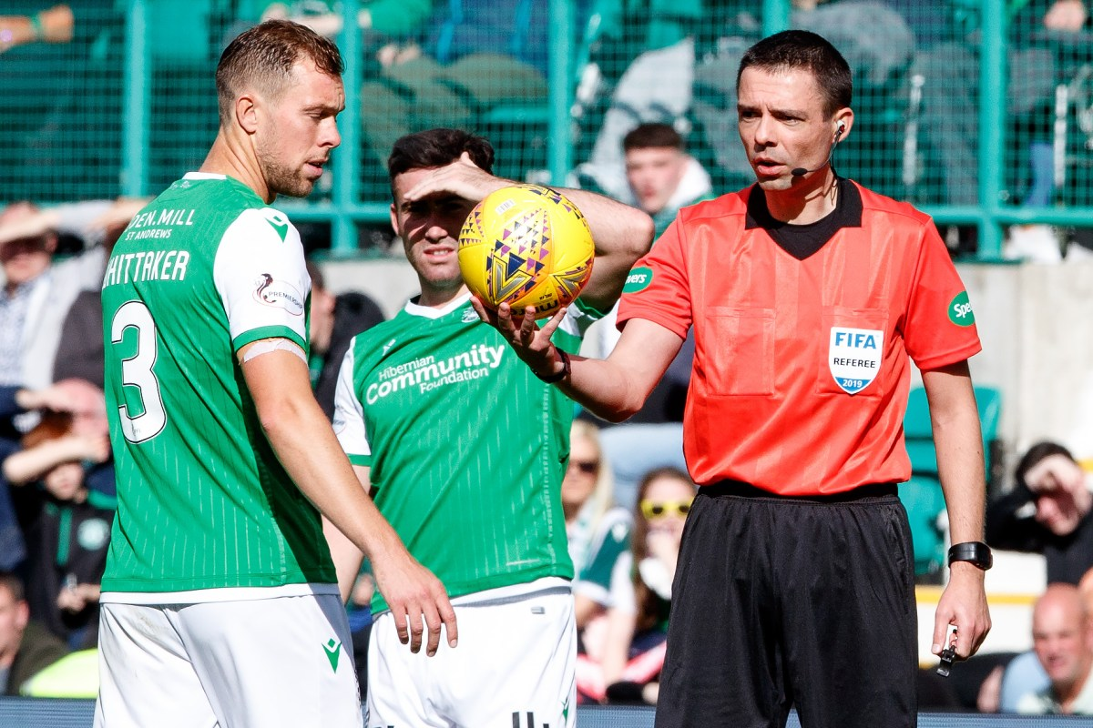 Hibs vs Celtic blunder ref Kevin Clancy to take charge of Hearts vs Rangers